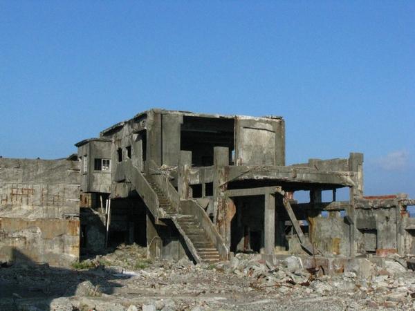 世界遺産候補 軍艦島内部の写真その1